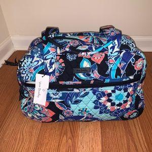 NWT Vera Bradley Compact Traveler Bag